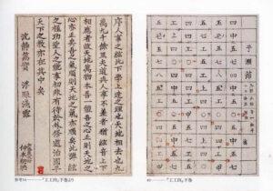 屋嘉比朝寄(1716~1775)工工四、琉球音楽に関する最も古い印刷物、刊年不明。